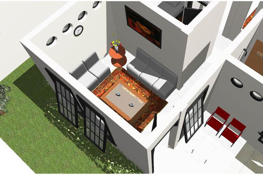 Desain Rumah Sederhana 10 x 12 meter | Aryansah's mind trash...