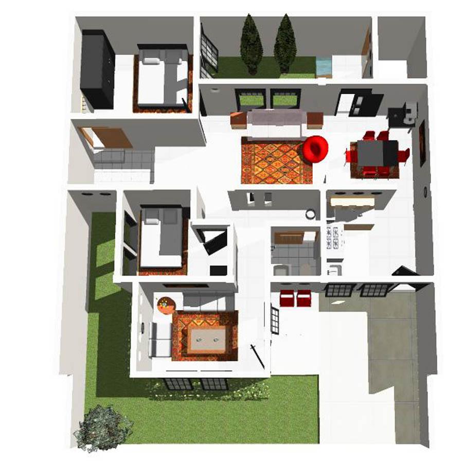 Desain Rumah Sederhana 10 x 12 meter   Aryansahs mind trash