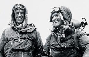 Edmund Hillary and Tenzig Norgay